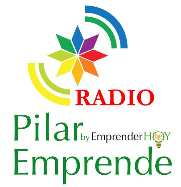 LOGO PILAR EMPRENDE RADIO CUADRADO