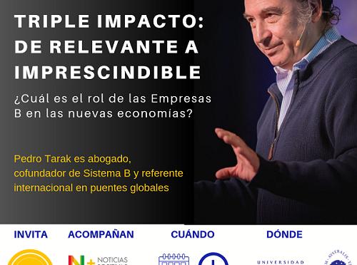 Conferencia gratuita: ¿Cuál es el rol de las empresas B  en las nuevas economías?